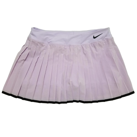 Nike Dresses & Skirts - Nike Court Dri-fit Pleated Tennis Skirt Purple XL